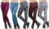 Women's Heavy-Knit Fleece-Lined Leggings
