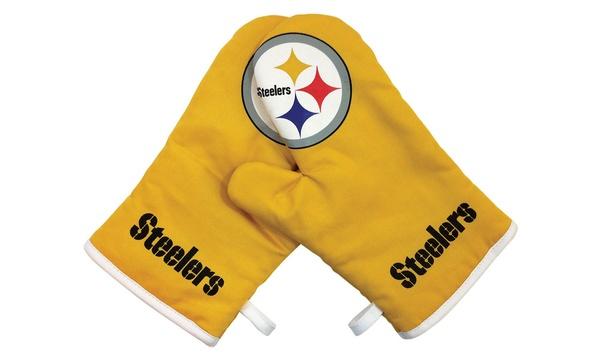 f9a99aa5f Sports Team Logo NFL Oven Cross Mitt Gloves
