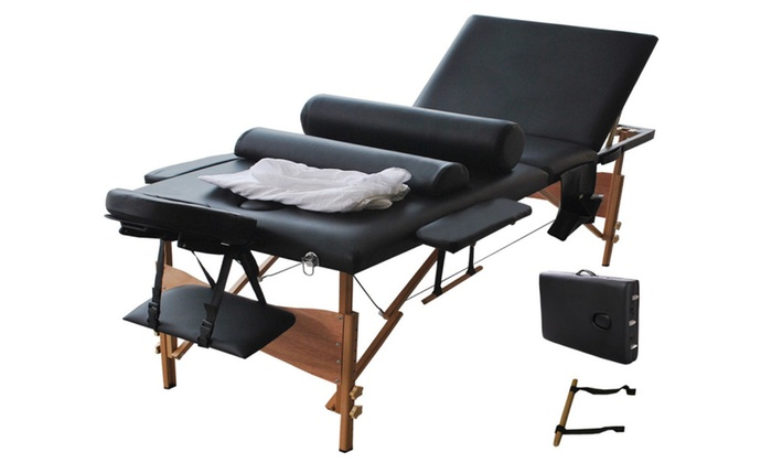 Portable Massage Table with Carrying Case, 3