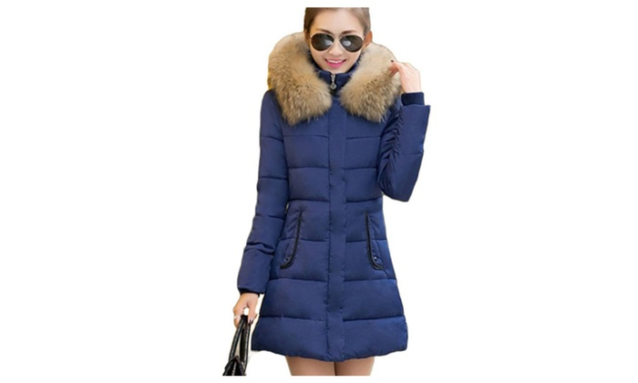 DSB Women's Thickened Down Jacket Coat