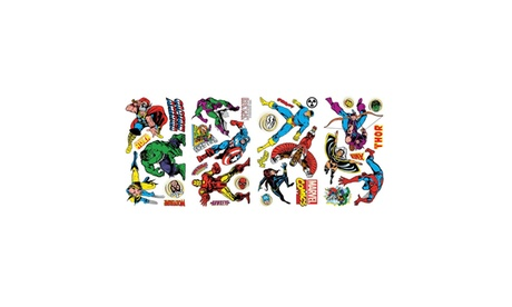 Roommates Decor Marvel Classics Wall Decals 37aee245-44ac-42bd-8cba-11c7526fd41f