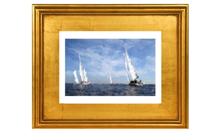 A perfect wind -Framed fine art