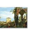 Canatello Capriccio with Motifs from Padua Canvas Print