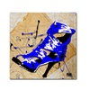 Roderick Stevens Blue Strap Boot Canvas Print