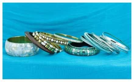 Styled Bangle Bracelet Sets from AtStyle247