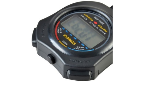 Insten LCD Digital Stopwatch Date Time Alarm Clock Chronograph 8ca6eec7-3b8a-4209-b133-97aa880c750f