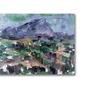 Paul Cezanne 'Montagne Saint-Victoire' Canvas Art