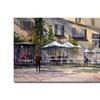 Ryan Radke Dining Alfresco Canvas Print
