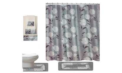 Shop Groupon Dove 18 Piece Bathroom Set