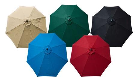 Apontus Replacement Umbrella Canopy Cover for 9ft 8 Ribs c886e568-7dde-4cb9-af6e-580a225c04f5