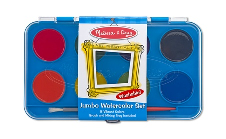 Melissa Doug Jumbo Watercolor Paint Set 8 colors 4121 47463d61-4ecd-4591-a5ed-1c2d54596369