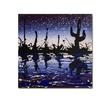 Roderick Stevens Desert Lake Canvas Print