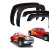 Fender Flares for Chevy Silverado 99-06 Set of 4 Paintable Matte Black