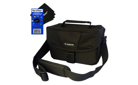 Canon Well Padded Compact Multi Compartment SLR Digital Camera Bag NEW fff0d5cd-b17f-4bfc-9671-2fe282035a6c