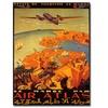 Le Maroc Par Air Atlas Canvas Print 18 x 24