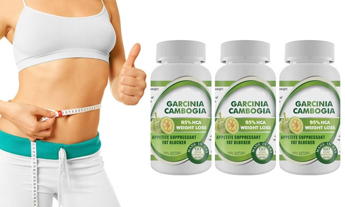 Pure Garcinia Cambogia Extract Maximum 95 Hca 3 Bottles 180