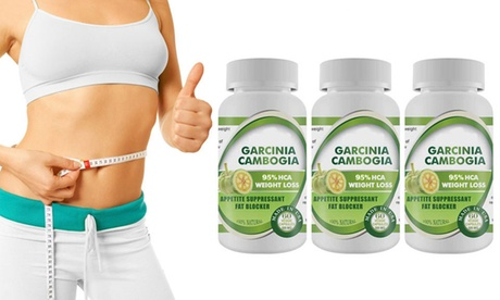 Pure Garcinia Cambogia Extract Maximum 95% HCA - 3 Bottles