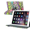 Insten For iPad Air2 Rotating Folio Flip Stand Case Cover Graffiti