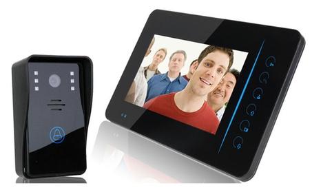 "2.4G 7"" Wireless Video Door Phone Doorbell Security 1-Camera 1-Monitor 2cebfda6-28a3-48d2-86e1-8ad3e840594d"