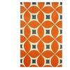 "nuLOOM Contemporary Handmade Area Rug, 7'6""x 9'6"" Deep Orange"