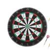 Hey! Play! 18 inch Double-Sided Flocking Dartboard with Six 17g Darts