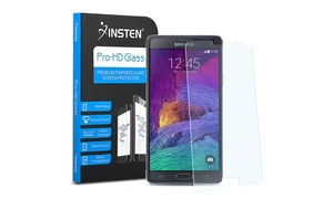 Insten Tempered Glass Screen Protector For Samsung Galaxy Note 4 N910
