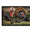 American Expedition Cutting Board - Wild Turkey Collage