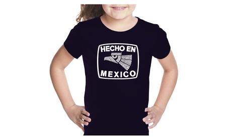 Girl's T-shirt - HECHO EN MEXICO cf46d64c-9695-4750-9353-247cb3b35f4d