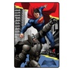 "Comics Batman vs Superman Heroes Duel 62"" x 90"" Kids Plush Blanket"