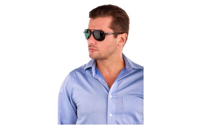 Sunglasses Men New Chopard Italian Polarized Aviators Black Luxury QWdBeoCrxE