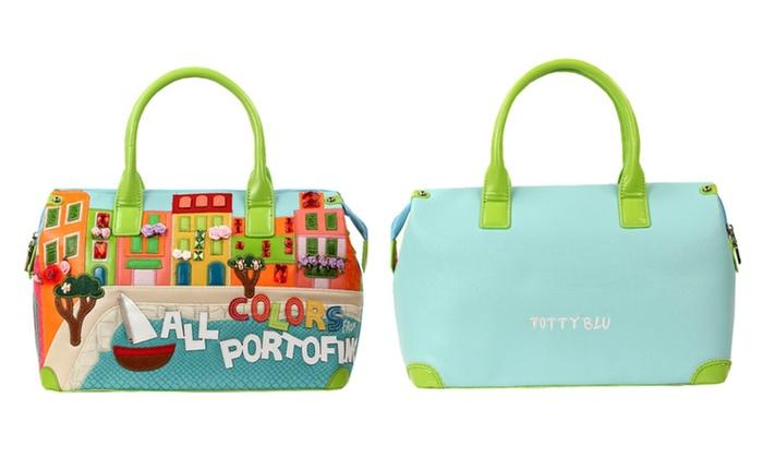 Tottyblu Bags Braccialini Style Portofino Landscape
