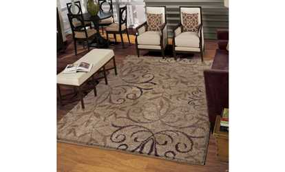 Image Placeholder For Dakota Taupe Area Rug Multiple Sizes Available
