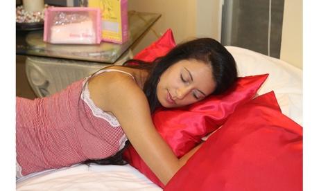 Morning Glamour Satin Pillowcases 2 Pack a18cf552-b39f-44d0-aca2-003ce8619d8b