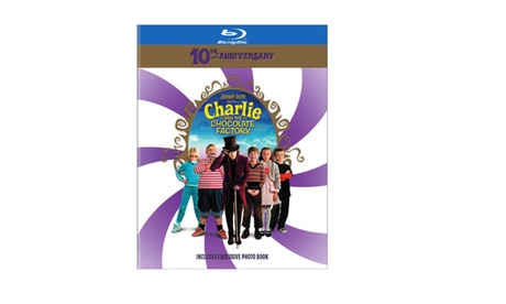 Charlie and the Chocolate Factory 10th Anniversary (BD) dded0943-bb02-49f1-a0bb-c3561be3889c