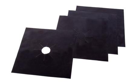 Stove Top Burner Protectors - Set of 4 Heavy Duty Nonstick Stove Liner