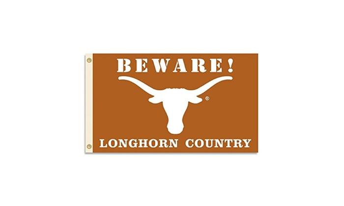 NCAA Texas Longhorns 3 x 5-Feet Country Flag with Grommets
