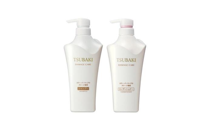 Shiseido Tsubaki Damage Care Shampoo and Conditioner 500ml