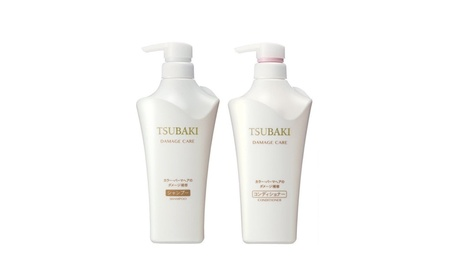 Shiseido Tsubaki Damage Care Shampoo and Conditioner 500ml 9069623d-9998-4b3a-af1d-64f71c3fff80