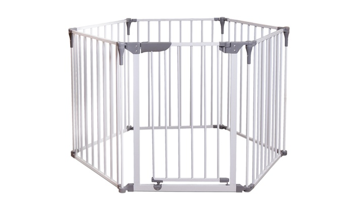 ROYALE CONVERTA GATE - 3 IN 1 PLAY-YARD & WIDE BARRIER