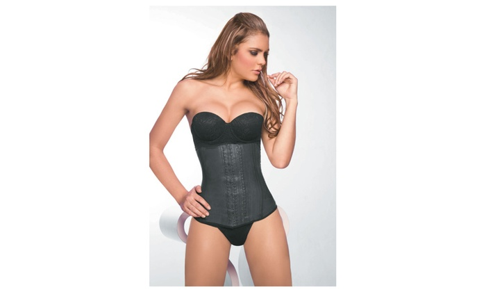 2 Hook 100% Authentic Colombian Latex Waist Trainer