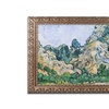 Van Gogh 'The Alpilles 1889' Ornate Framed Art
