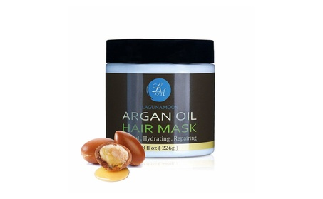 Lagunamoon Argan Oil Deep Conditioner Hair Mask For Damaged Dry Hair