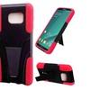 Insten Black Red Hard Hybrid Case W/stand For Samsung Galaxy Note 5