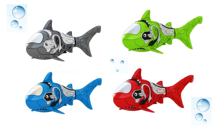 Robo Fish Robot Shark Groupon