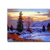 David Lloyd Glover 'Early Spring Daybreak' Canvas Art