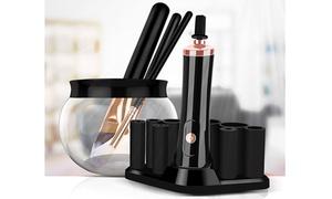 Electric Makeup Brush Cleaner & Dryer Set Make Up Brushes Washing Tool