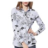 Women's Casual Button down Stripes Printed Long Sleeve Shirts