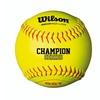 Wilson A9031 ASA Low Optic Yellow Fastpitch Softball 12 Pack