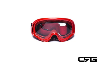 CRG Motocross ATV DIRT BIKE OFF ROAD RACING GOGGLES Adult T815-3-2