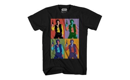 Han Solo Warhol Pop Art Blaster Star Wars T-shirt be328601-8386-4d3d-a5ea-b8e5949e38ae